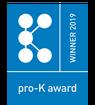 Winner of the Pro-K Award 2019