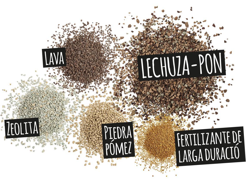 'Componentes de LECHUZA-PON: Lava