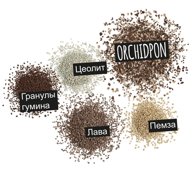 'Компоненты ORCHIDPON: Цеолит