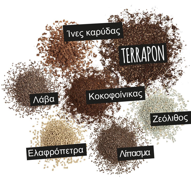 'TERRAPON: Ίνες καρύδας