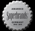 Winner of the Superbrand Award 2018/19