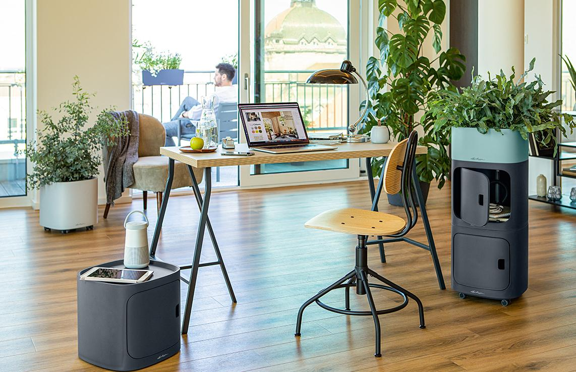 PILA Storage and Planter offer creative design possibilities at the workplace