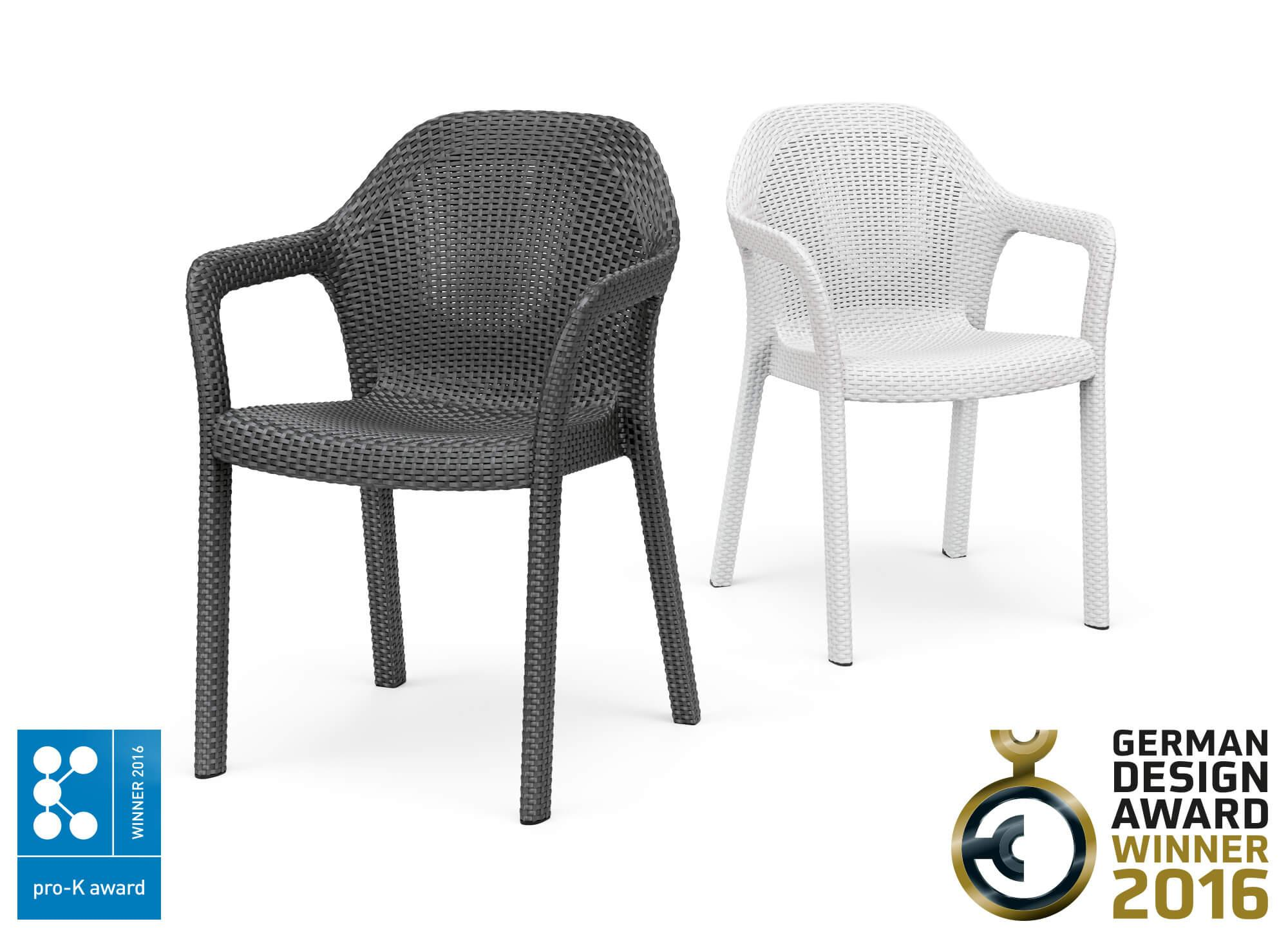 Our chair has already won the GERMAN DESIGN AWARD