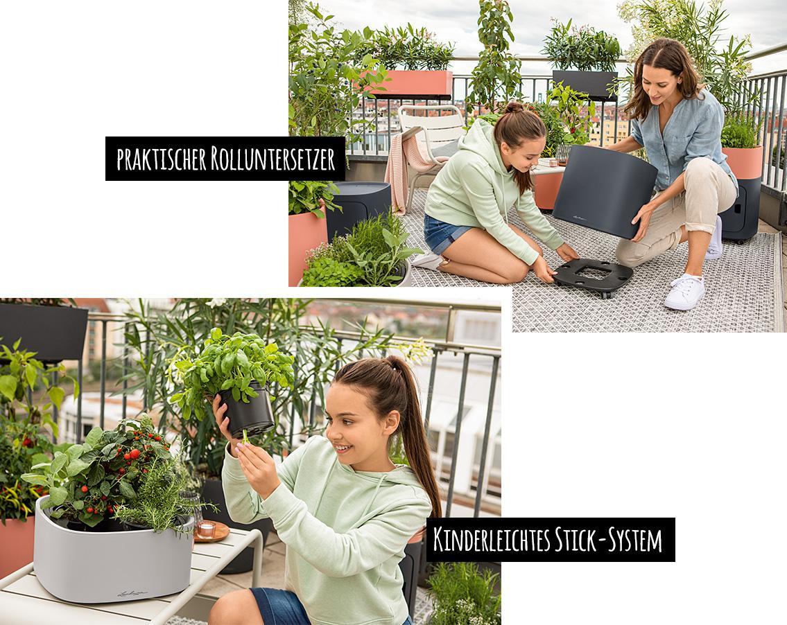 Stick-System und Rolluntersetzer für PILA