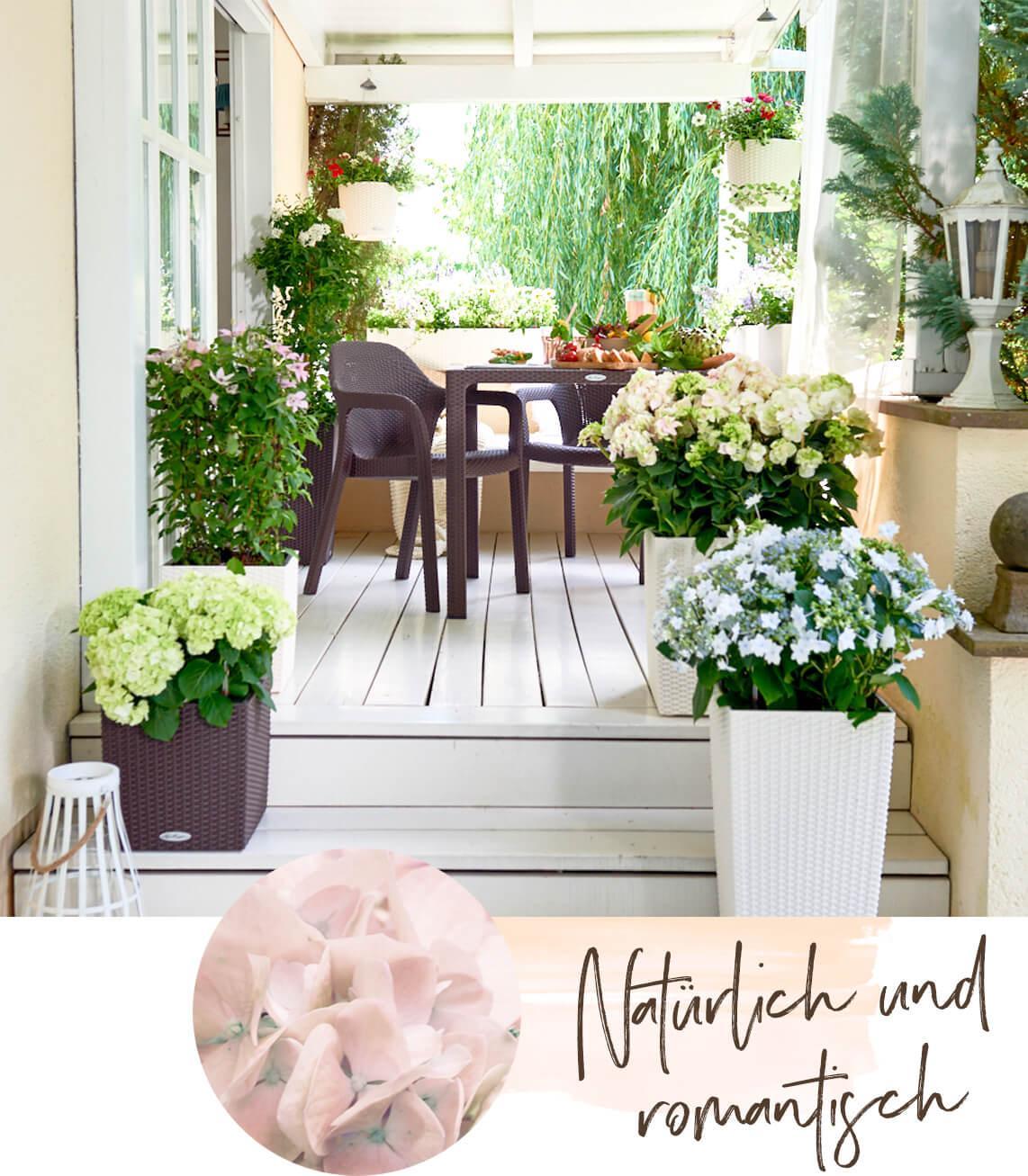 Gärten im Landhausstil
