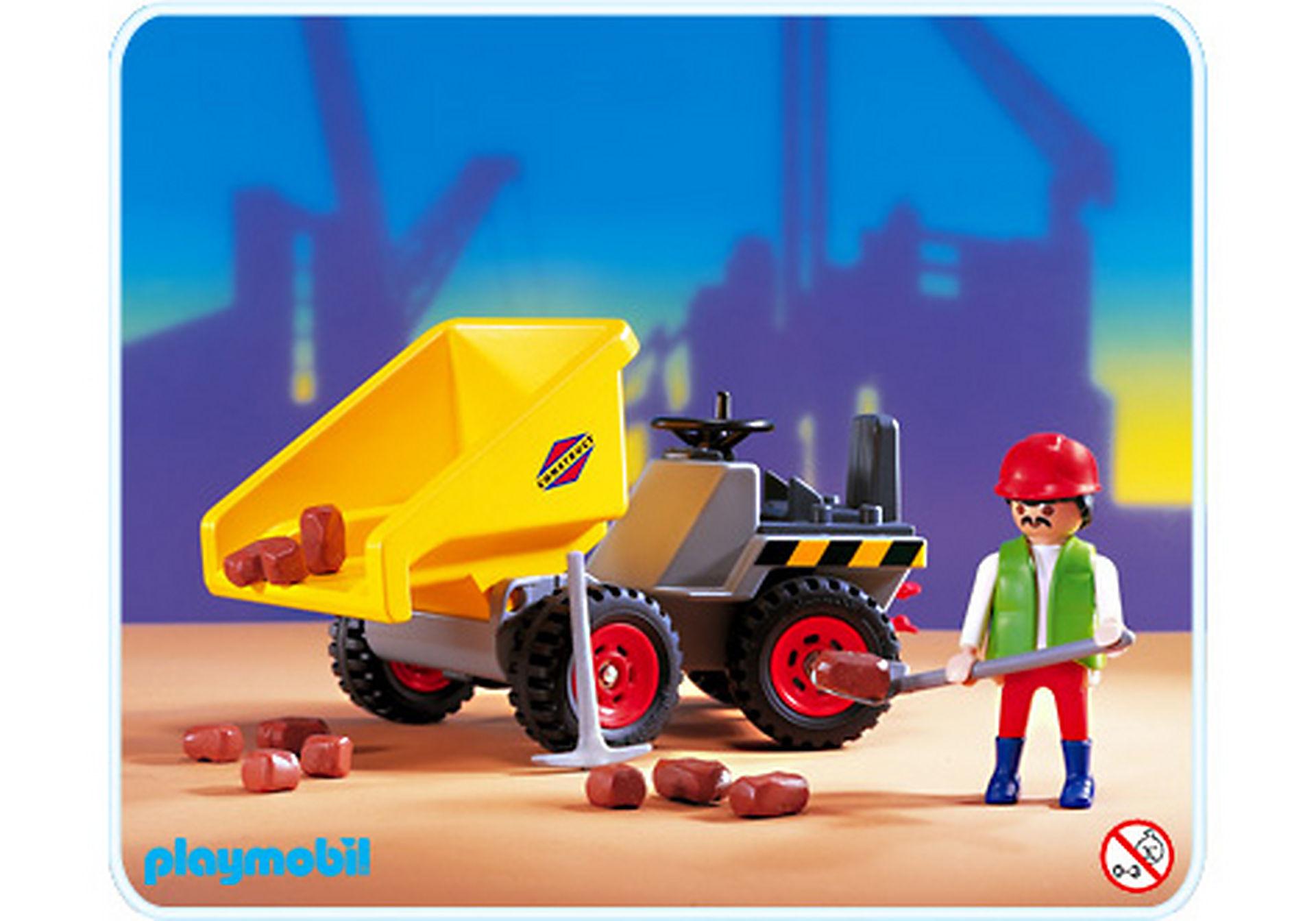 3002-A Tracteur dumper zoom image1
