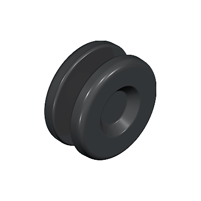 30024000_sparepart/WHEEL: GUIDE, BLACK.