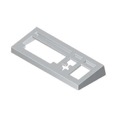 30032350_sparepart/CASING:KEYBOARD  GREY