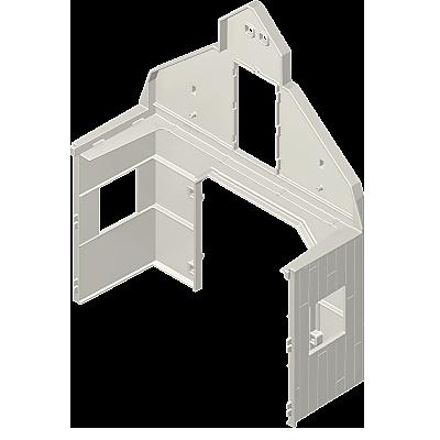 30032603_sparepart/Holzscheune-Hauswand