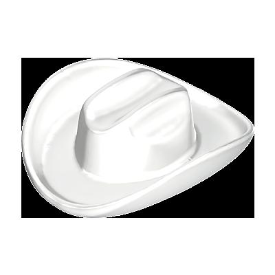 30040600_sparepart/HAT: COWBOY LARGE  WHITE.