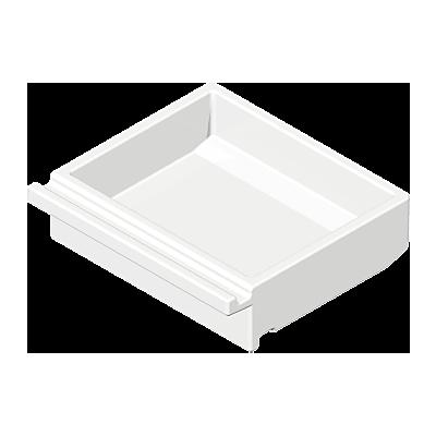 30045170_sparepart/DRAWER: SHALLOW  WHITE.
