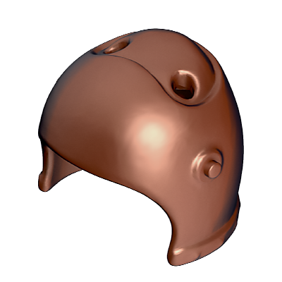 30047713_sparepart/HELMET WITH HOLES FOR ORNAMENT