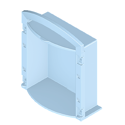 30050233_sparepart/Miniklappbox-Gehäuse