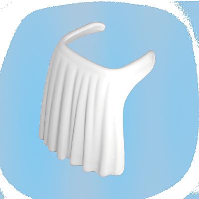 30053150_sparepart/APRON: LADIES  WHITE