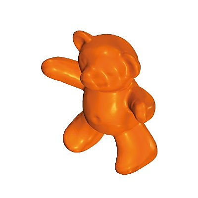 30054150_sparepart/TEDDY BEAR:ORANGE