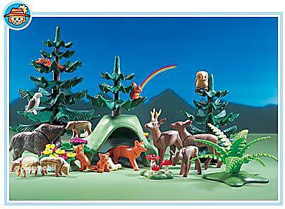 3006-A Animaux de la forêt detail image 1