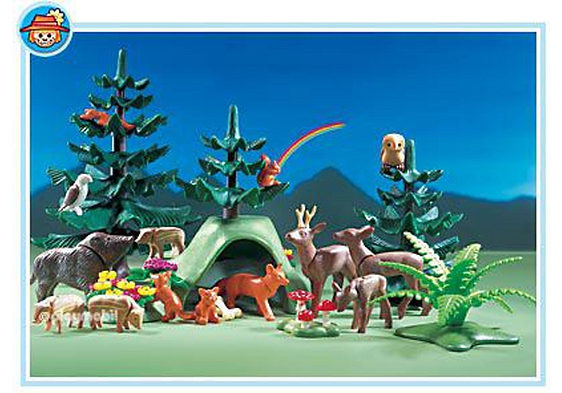 3006-A Animaux de la forêt zoom image1