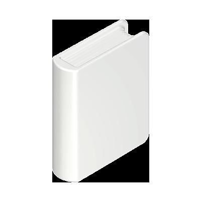 30061790_sparepart/BOOK: MONK, WHITE
