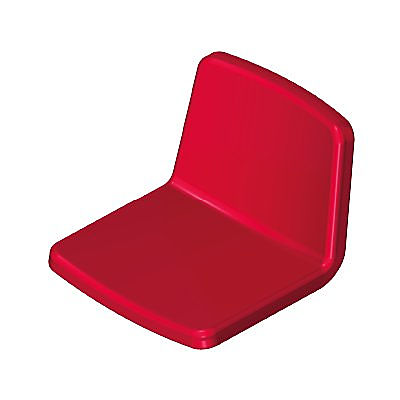 30074590_sparepart/CHAIR SEAT AND BACK RED