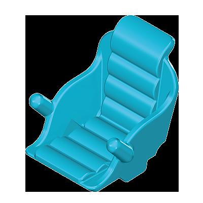 30074792_sparepart/WHEELCHAIR SEAT BLUE