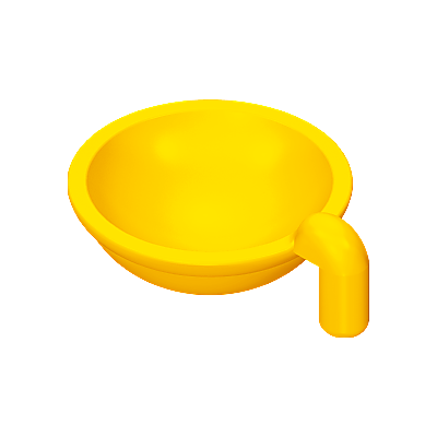 30081260_sparepart/BOWL: CAT  YELLOW