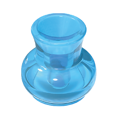 30085750_sparepart/SPITTOON:TRANSP.BLUE