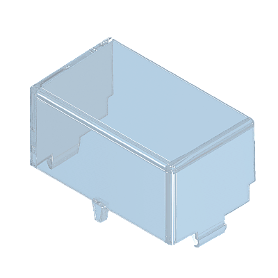 30094550_sparepart/CASE: GLASS  TRANSPARENT