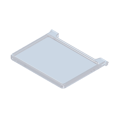 30094570_sparepart/COVER: GLASS CASE  TRANSP