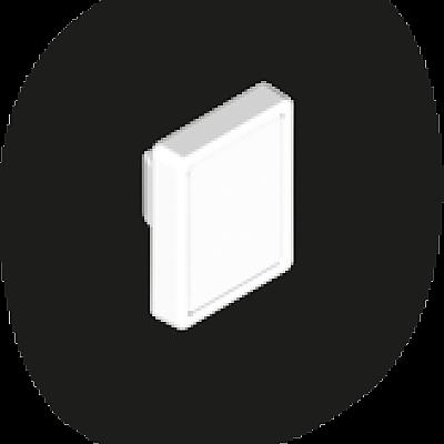 30096030_sparepart/PLATE: MARKING  WHITE
