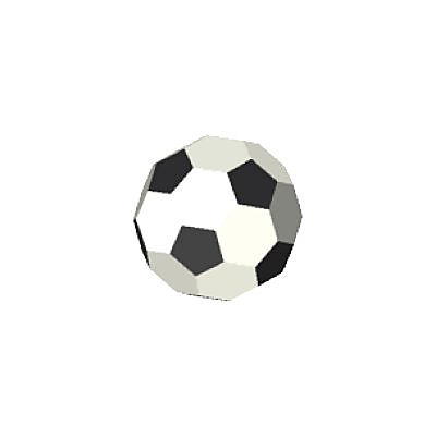 30096610_sparepart/FOOTBALL: BLACK/WHITE