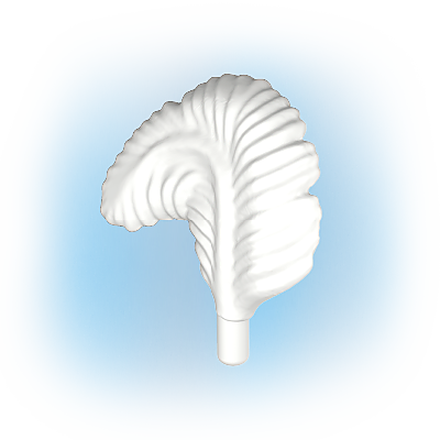 30097340_sparepart/Plume d'autruche recourbée