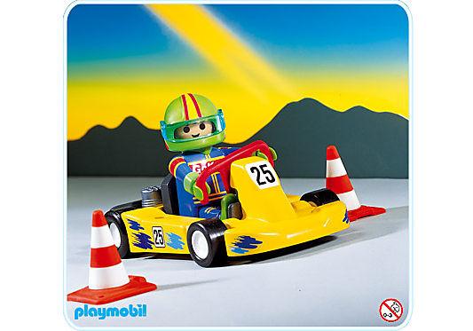 3013-A Go-Kart-Gelb detail image 1