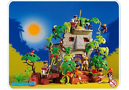 3015-A Dschungelruine detail image 1