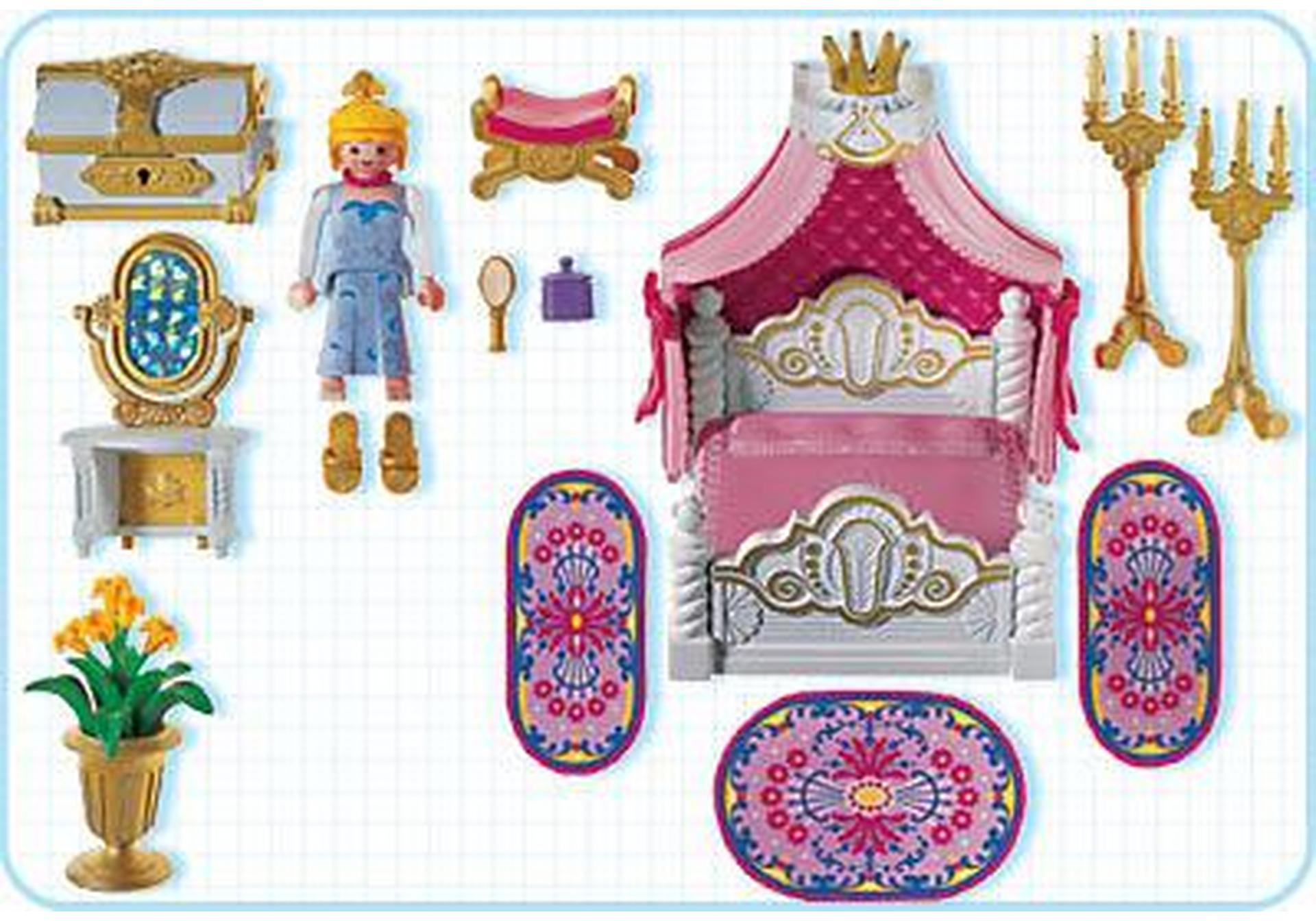 Chambre de la princesse 3020 a playmobil france for Playmobil chambre princesse