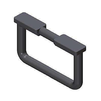 30200410_sparepart/TABLE LEG, D-SHAPED BLACK