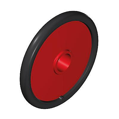 30202292_sparepart/WHEEL:CHILD WHEEL CHAIR TRAFFIC RED/BLAC