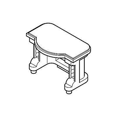 30204910_sparepart/Table de coiffeuse
