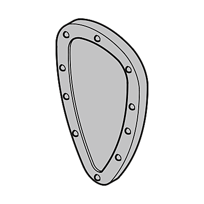 30207960_sparepart/SHIELD: NORMANDY  SILVER.II
