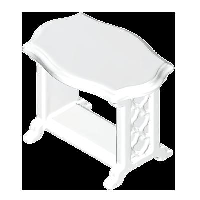 30208380_sparepart/TABLE: BATHROOM  CRM.WHT