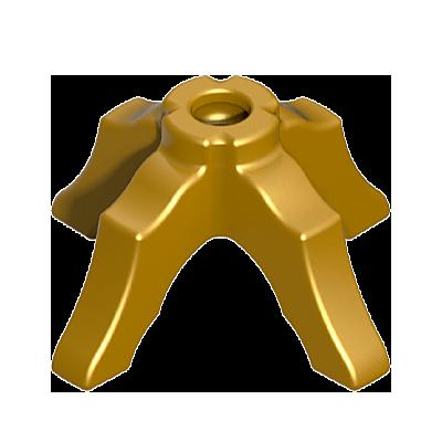30209430_sparepart/LEG:RND TABLE GOLD