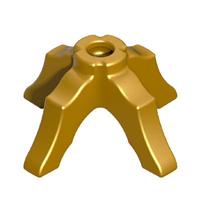30209430_sparepart/LEG:RND TABLE,GOLD