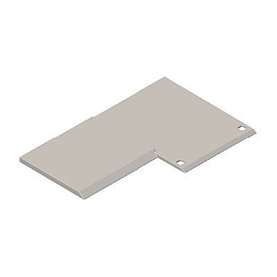 30209513_sparepart/BASE PLATE FOR JAIL CELL GREY