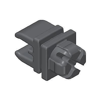 30209950_sparepart/CLIP WITH SYSTEM X KNOB BLACK