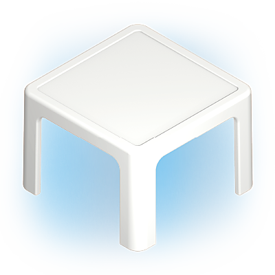 30210123_sparepart/TABLE, SMALL, SQUARE WHITE
