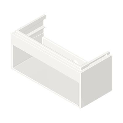 30211112_sparepart/Support de meuble blanc