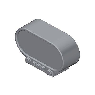 30211172_sparepart/Radio-réveil gris