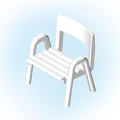 30211302_sparepart/Chaise de jardin blanche