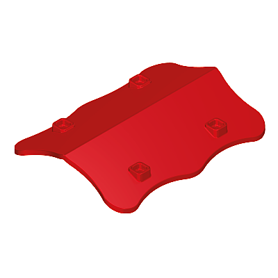 30212843_sparepart/PLAYGROUND TOWER ROOF RED