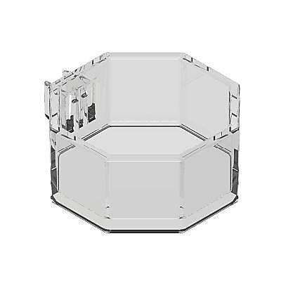 30215792_sparepart/Boîte octogonale transparente