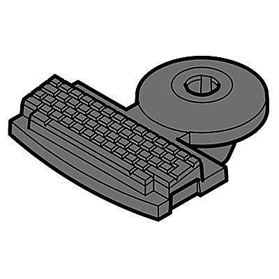 30216522_sparepart/PC-Kompakt-Fuss m.Zapf